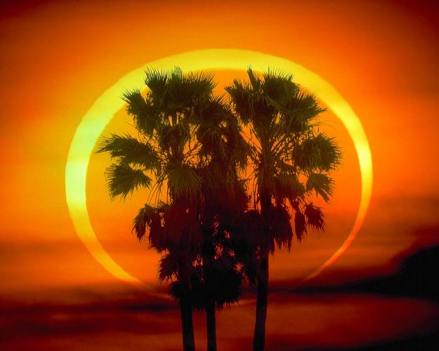 Кольцевое затмение Солнца