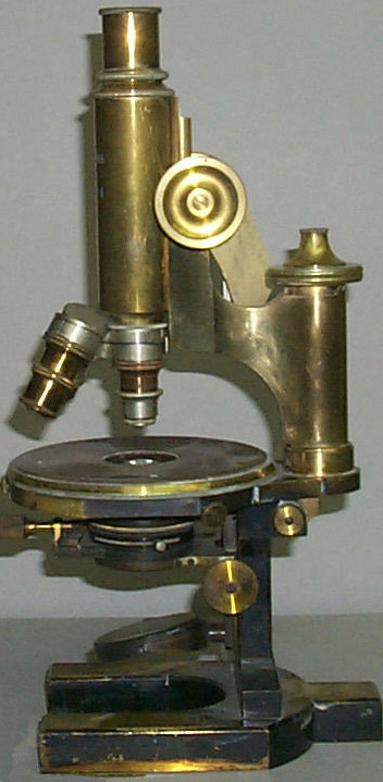 Микроскоп фирмы Карл Цейс (Carl Zeiss), 1891 год.