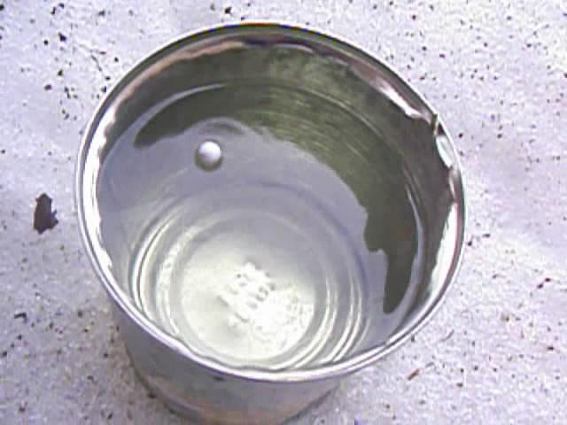 Реакция натрия с водой и горение водорода