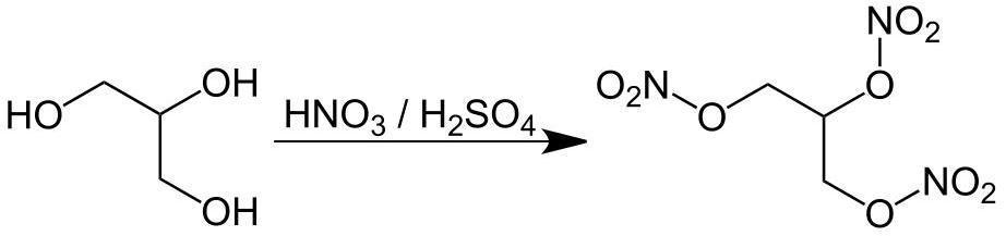 Получение нитроглицерина (тринитроглицерина)