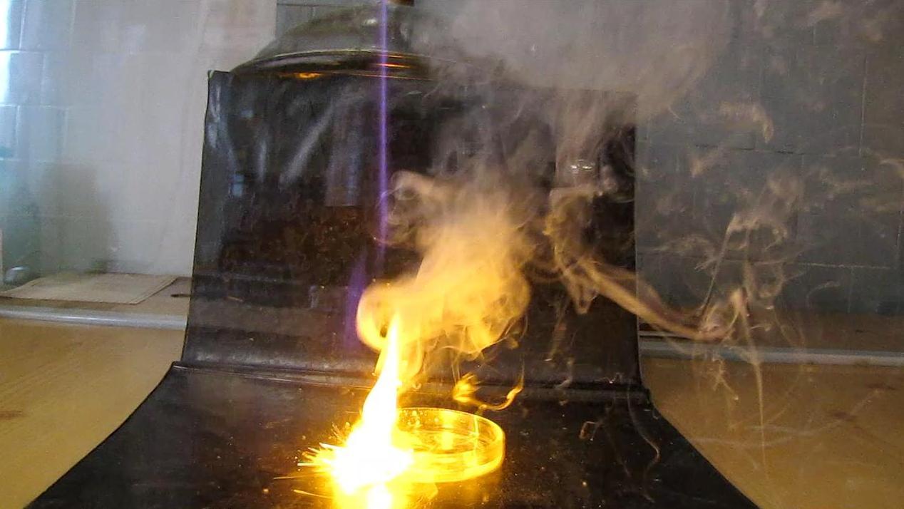 Натрий и концентрированная серная кислота