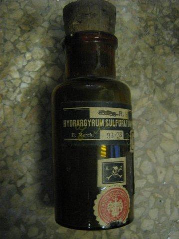 Сульфид ртути HgS, черная модификация