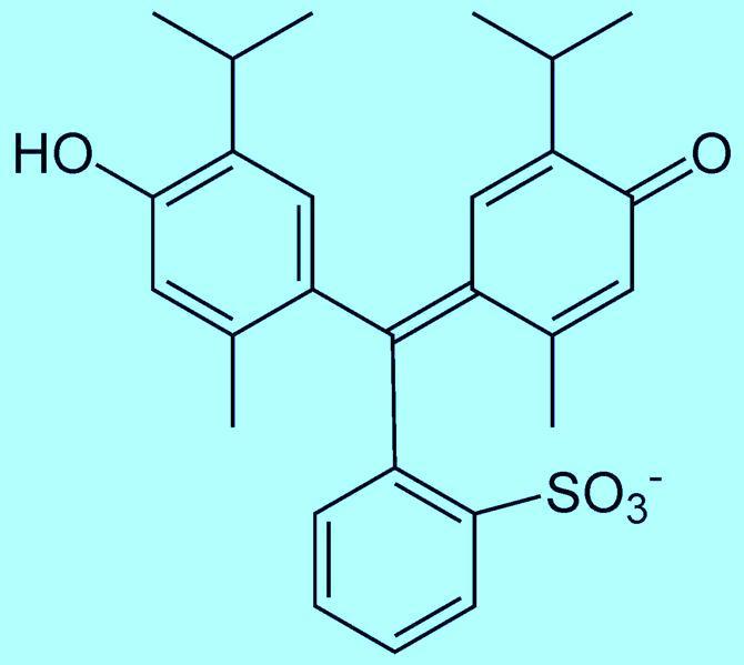 Тимоловый синий (тимолсульфофталеин)