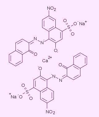 Эриохром черный Т - комплекс с кальцием (винно-красный)