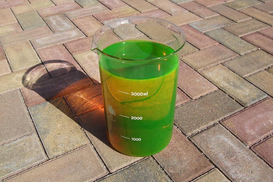 Флуоресцеин (раствор натриевой соли)