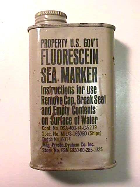 Флуоресцеин используют при спасении на море