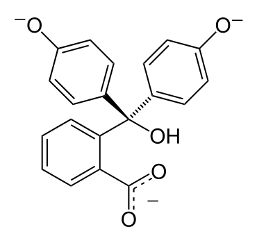 Фенолфталеин pH >12.0