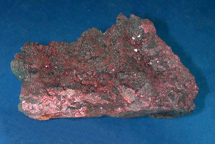 Киноварь - природный сульфид ртути HgS