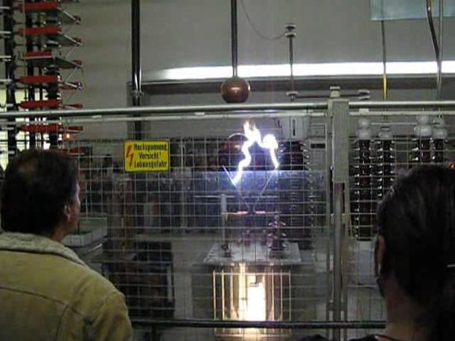 Электрическая дуга (высоковольтная)