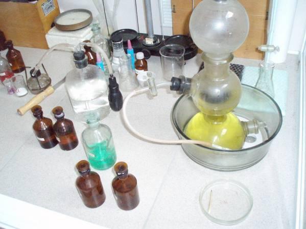 Аппарат Киппа - прибор для получения газов