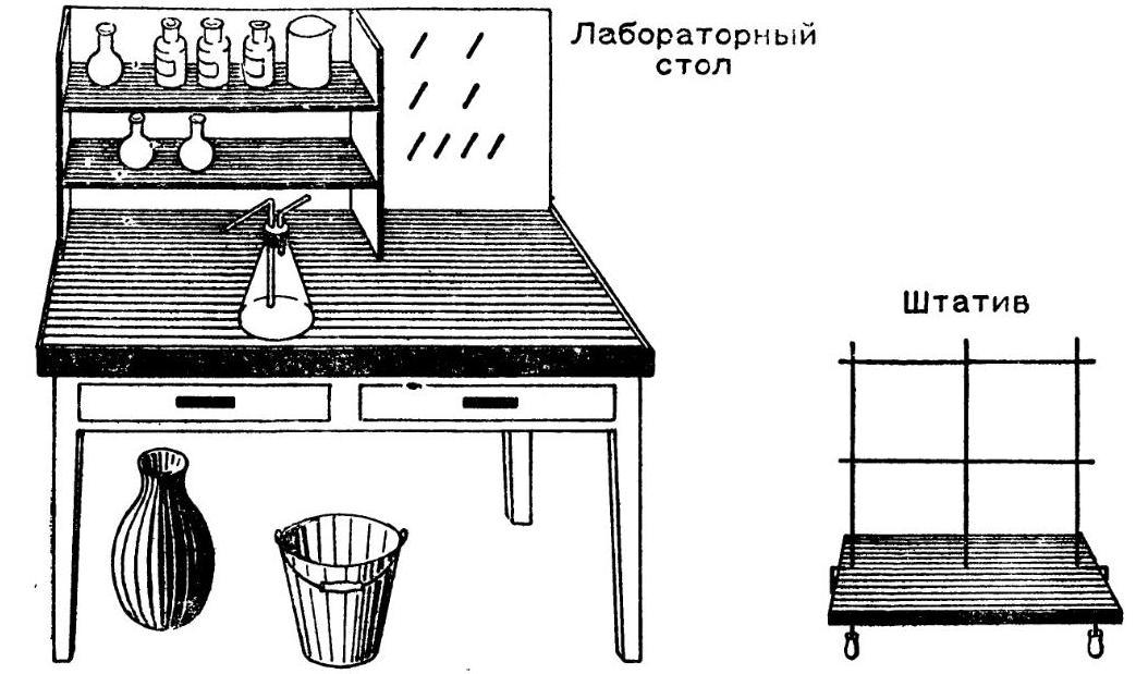 Лабораторный стол юного химика