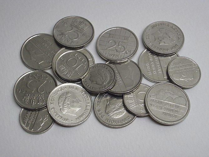 Голландские монеты из чистого никеля