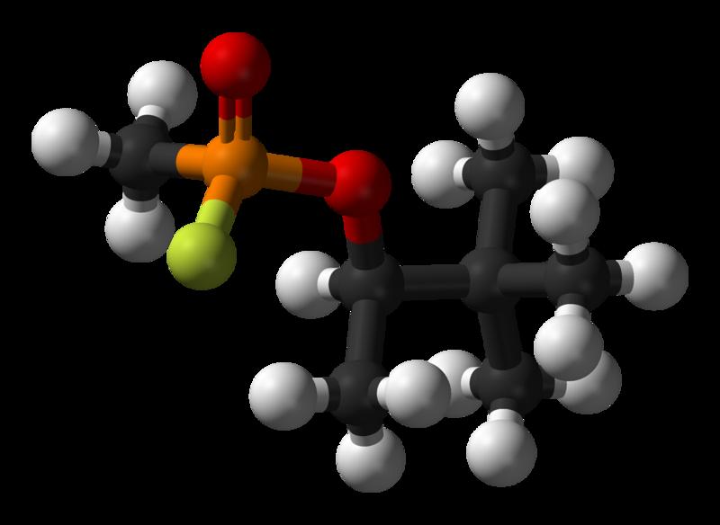 Зоман - пинаколиловый эфир метилфторфосфоновой кислоты
