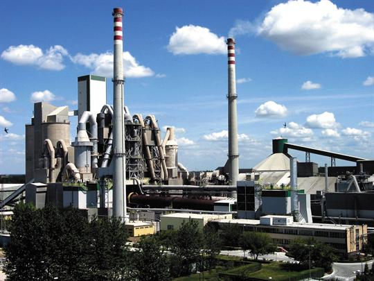 Цементные заводы