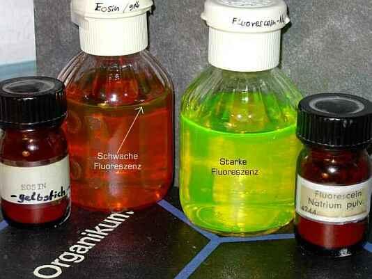 Эозин и флуоресцеин