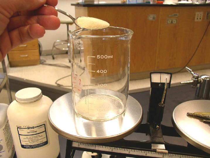 Приготовление микробиологической питательной среды