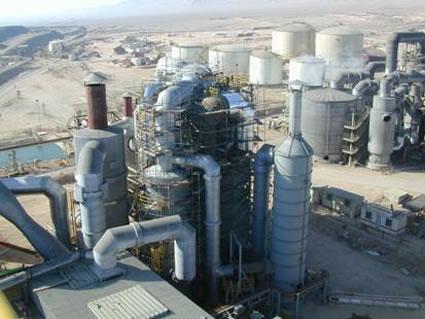 Заводы серной кислоты