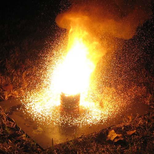 Алюмотермическая реакция (алюмотермия, горение термита)