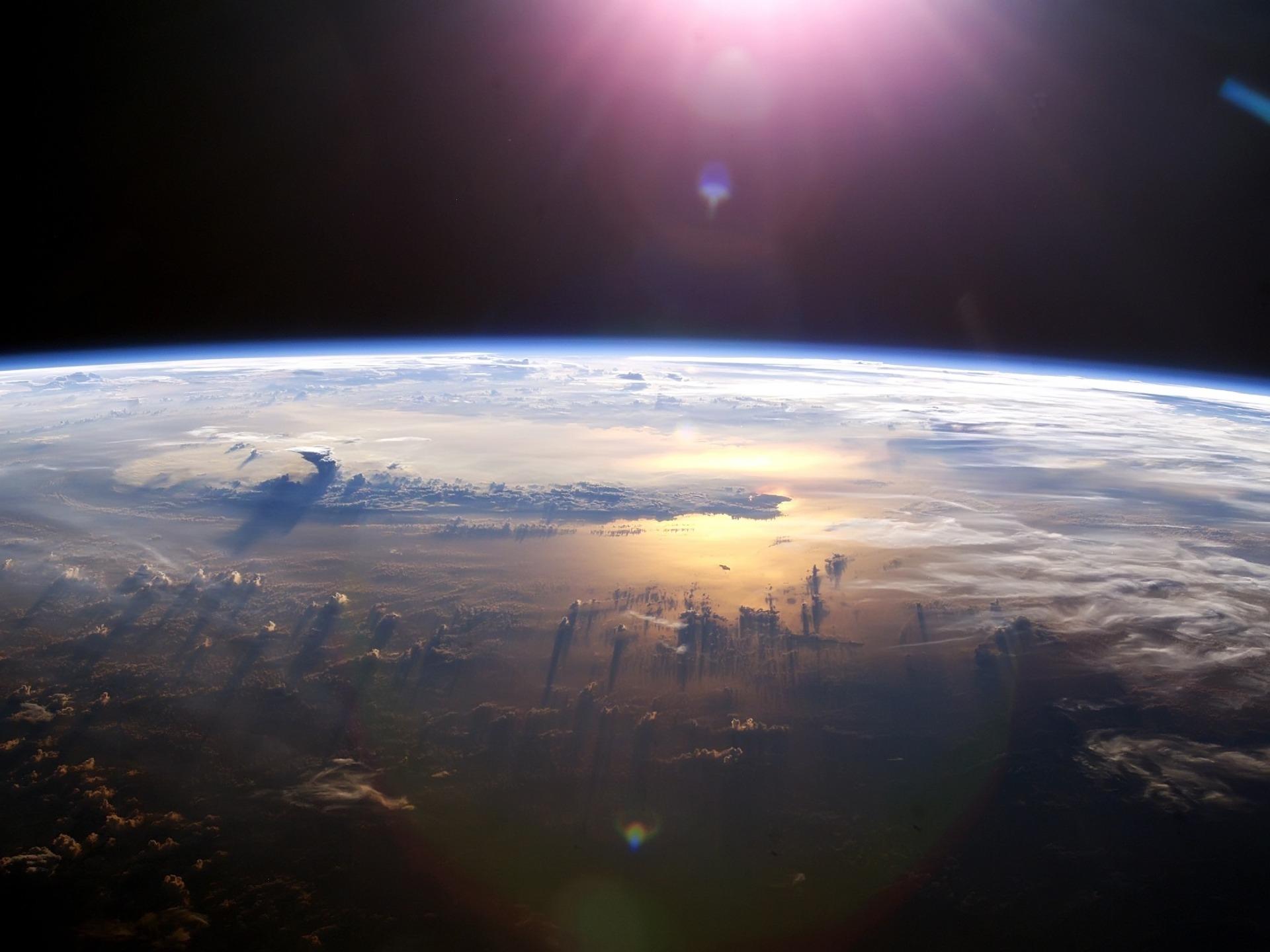 Тихий океан из космоса