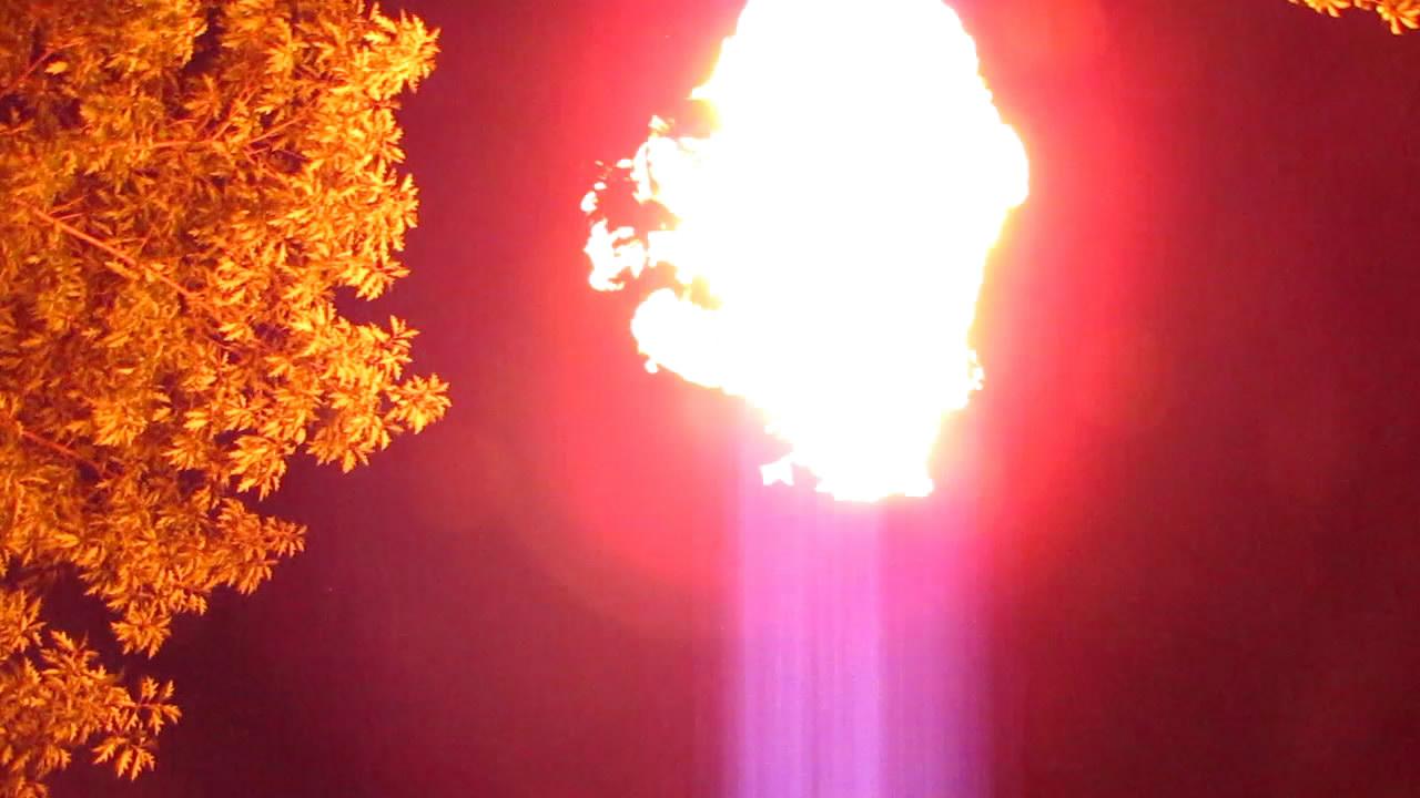 Горение метана (пакет на 120 л)
