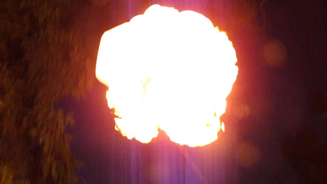 Горение метана (пакет на 20 л)