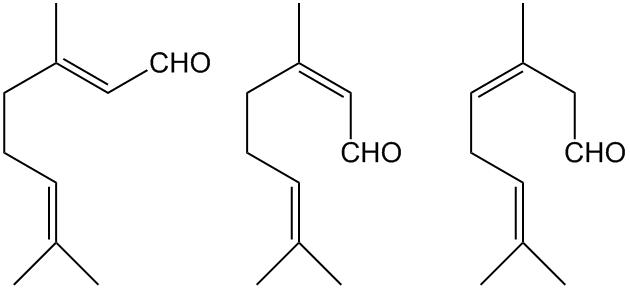Цитраль (изомеры)