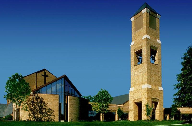 Вышка сотовой связи в виде колокольни (Даллас, Техас). Cell(Church) Bell Tower: Episcopal Church of the Transfiguration (Dallas, Texas)