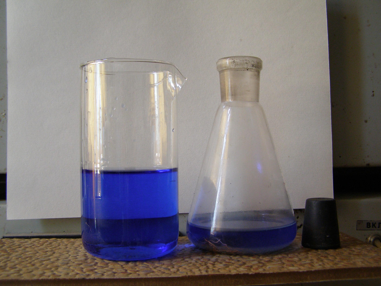 Окисление аммиаката меди (I) [Cu(NH3)2]OH кислородом воздуха