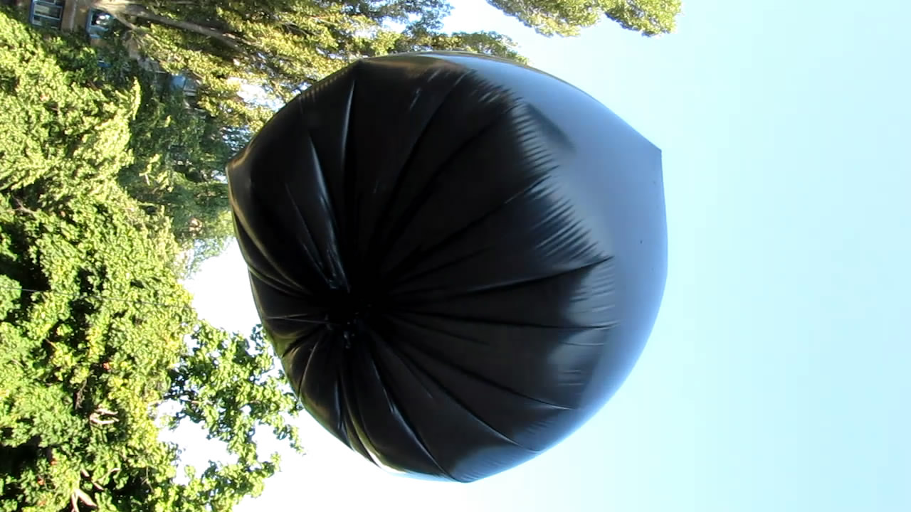 Аэростат с метаном (природным газом)  - пакет на 160 л