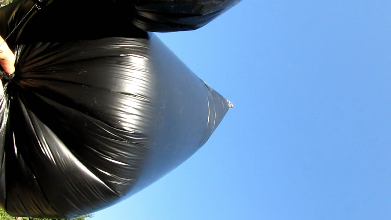 Аэростат с метаном (природным газом) - два пакета на 120 л