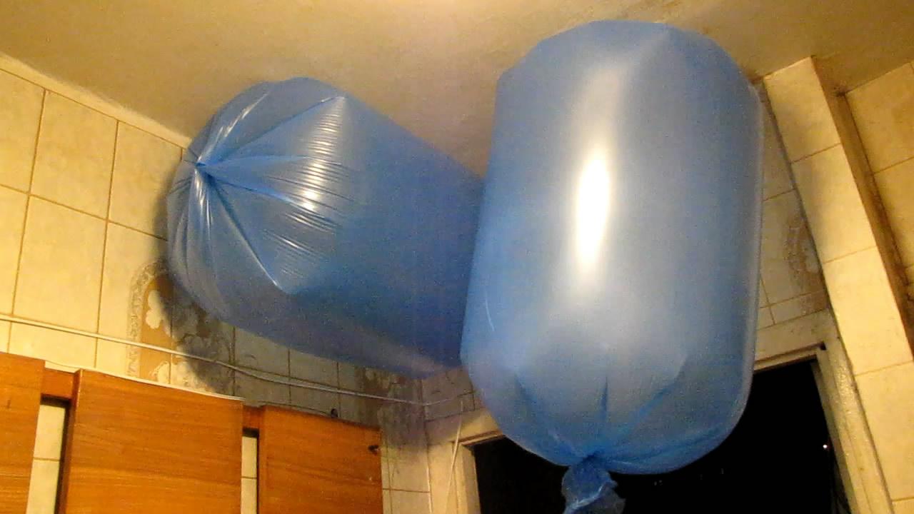 Горение метана (два пакета на 120 л)