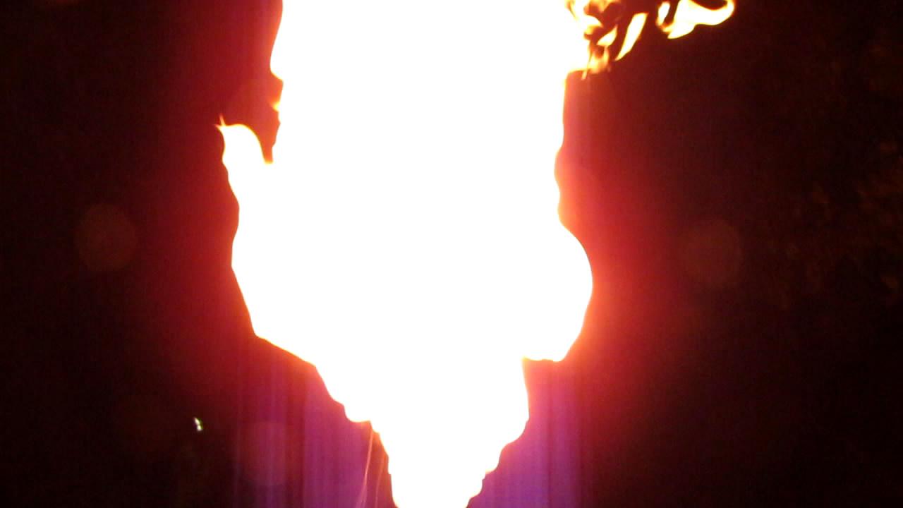Горение метана (пакет на 120 л; запуск с рук)