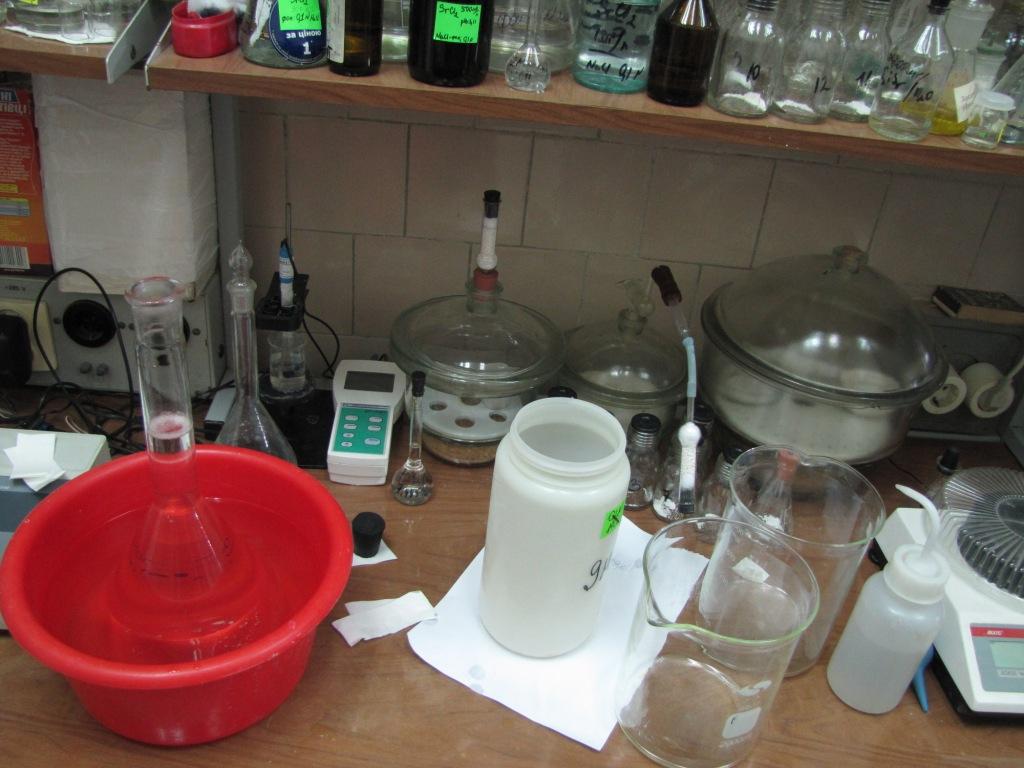 Лаборатории неорганического синтеза (сорбенты)