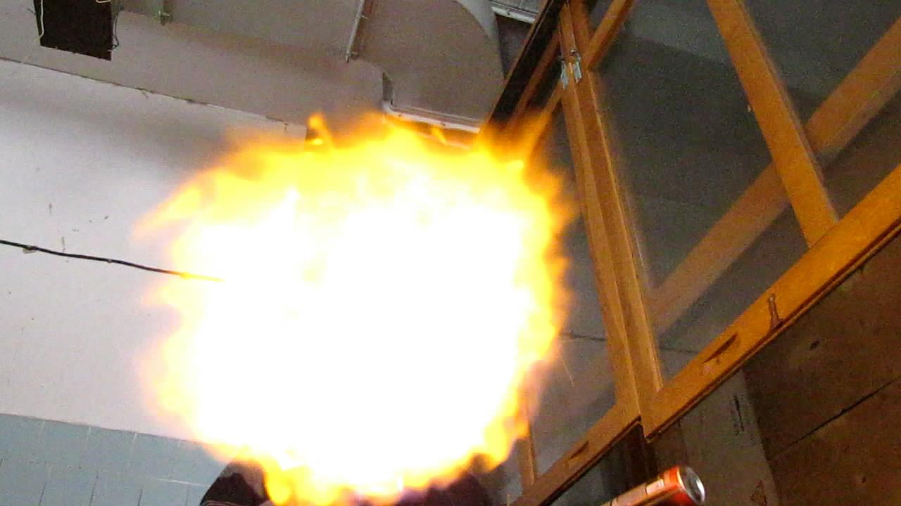 Огненное дыхание (жидкий бутан)