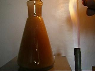 Горение железа в хлоре