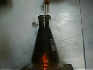 Горение пропан-бутановой смеси в хлоре