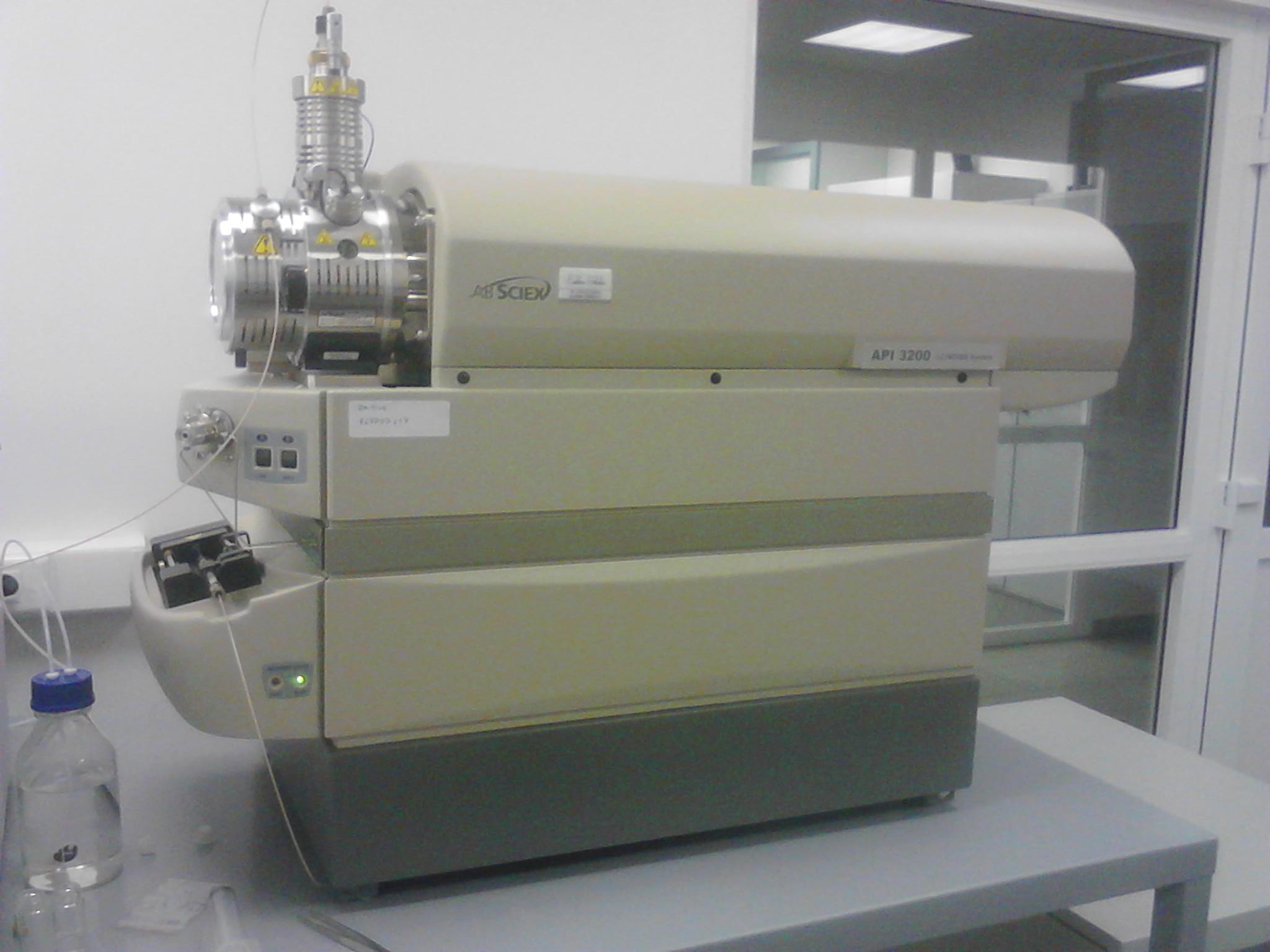HPLC хроматограф с MS детектором