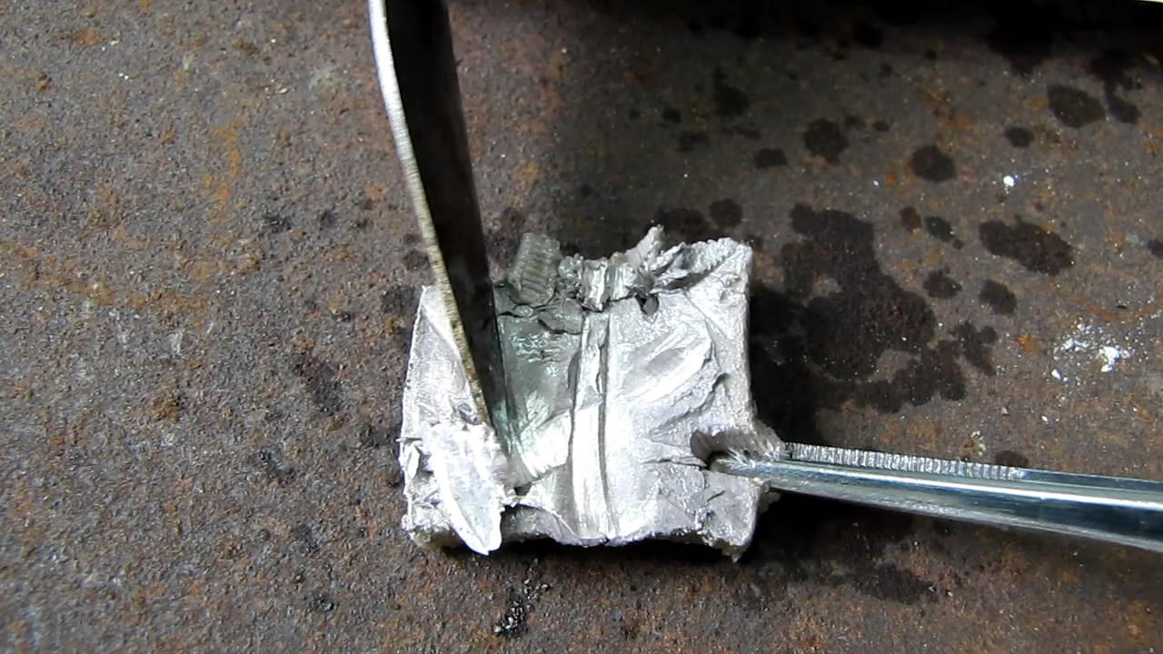 Металлический натрий. Metallic sodium