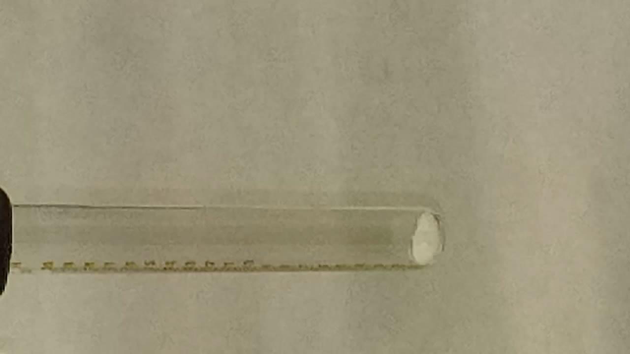 Разложение азида натрия (на воздухе). Sodium azide decomposition (in air)