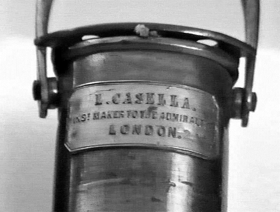 Термометр для измерения температуры морских глубин (1896 г)