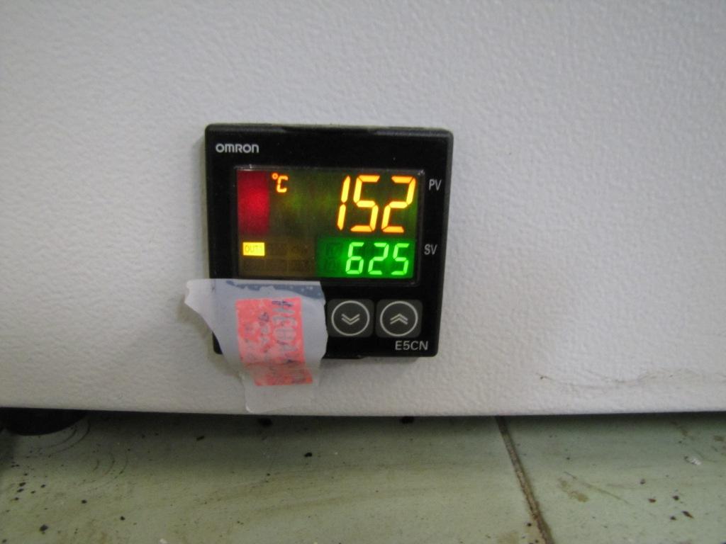 Электронный блок регулирования температуры муфеля