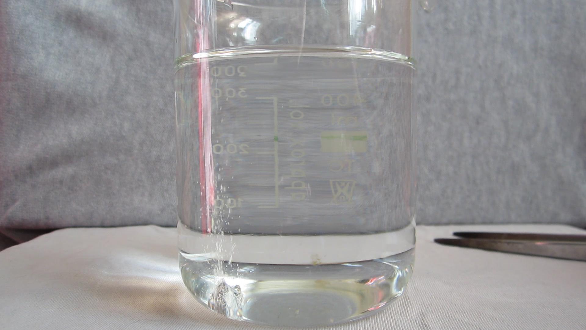 Реакция кальция с водой