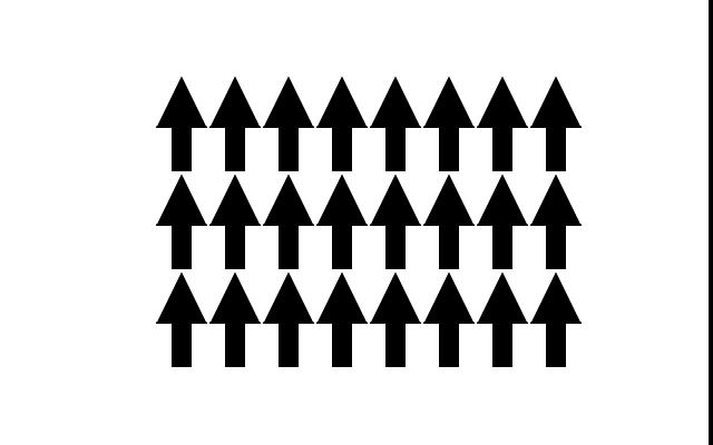 Ферромагнетик - магнитные моменты вещества ориентированы в одном направлении