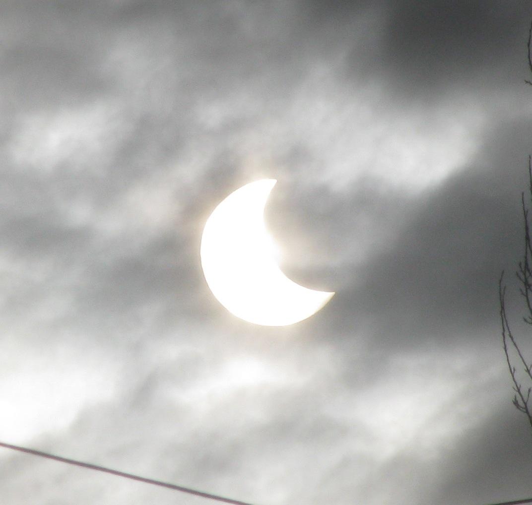 Солнечное затмение (4 января 2011 года, Киев)