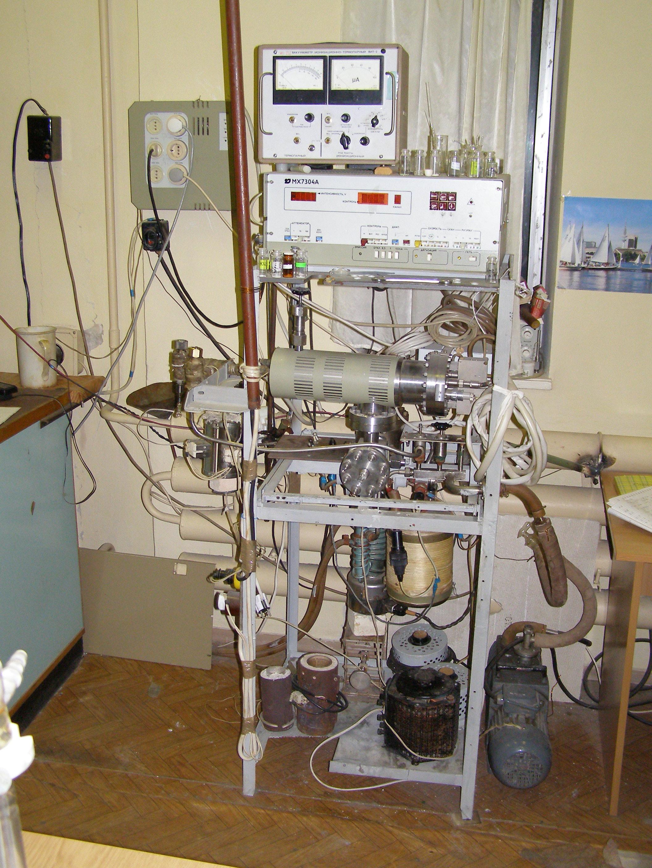 Масс-спектрометр (самодельный)