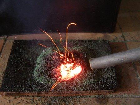 Демонстрация каталитического горения