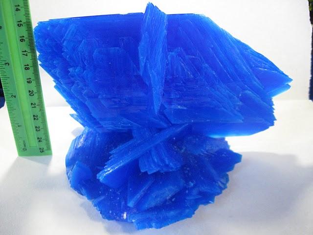 Как вырастить кристалл медного купороса дома