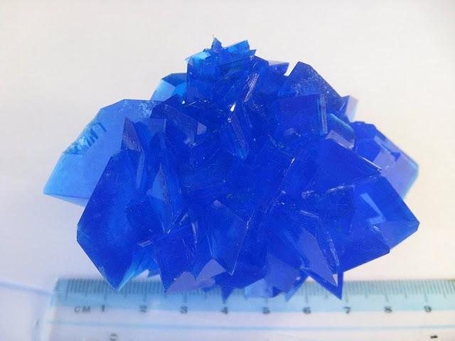 Кристаллы медного купороса