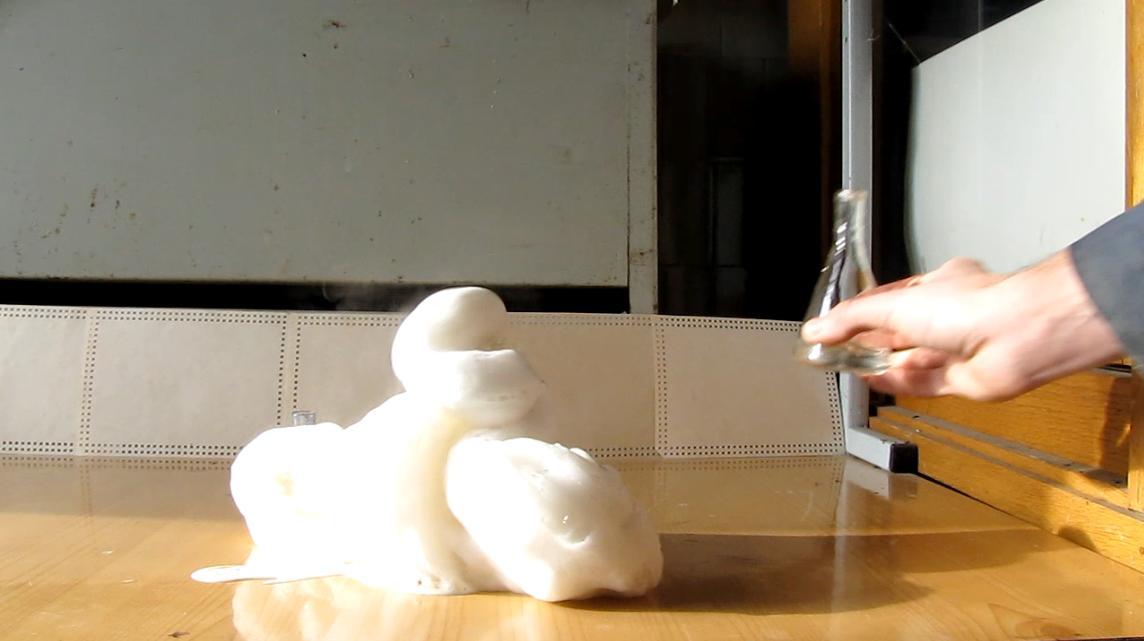 Разложение перекиси водорода