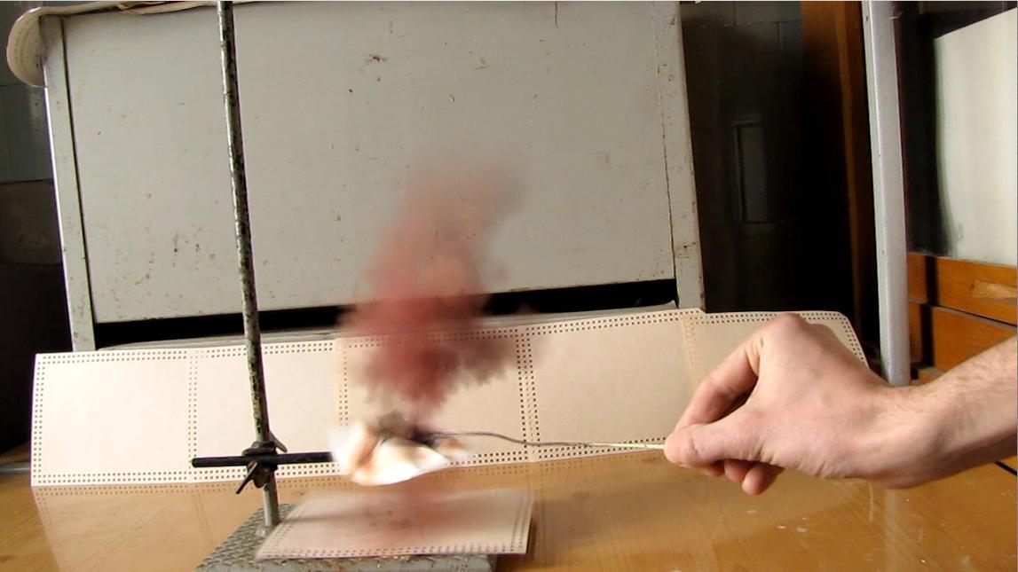 Получение и взрыв иодистого азота